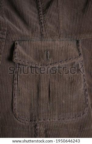 old vintage photo with a dark corduroy background stock photo © sandralise