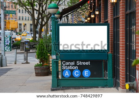 Empty billboard with clipping path Stock photo © sqback