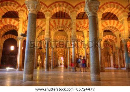 インテリア · スペイン · 建物 · アーキテクチャ · 寺 · モスク - ストックフォト © taiga
