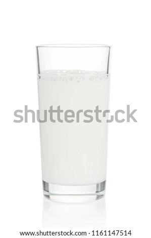 Sürahi tok cam süt eps10 Stok fotoğraf © LoopAll