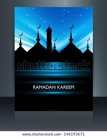 ramadan · cinza · mesquita · estrela · silhueta · belo - foto stock © bharat