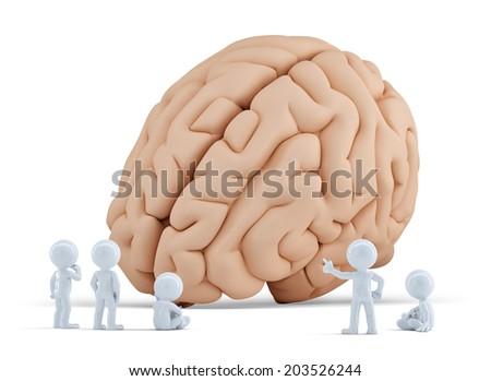 cervello · umano · 3D · anatomica · uomo · medici - foto d'archivio © kirill_m