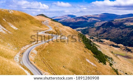 Altitude route montagnes Roumanie nature montagne Photo stock © pixachi