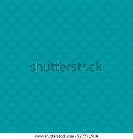 Peixe escala turquesa neutro moderno Foto stock © almagami