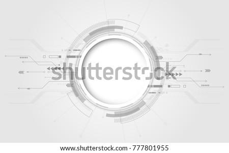 alto · tecnologia · projeto · elementos · dois · cem - foto stock © sarts