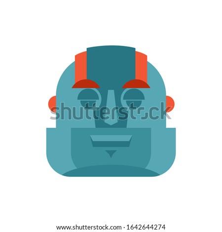 Robot uyku cyborg duygular Stok fotoğraf © popaukropa