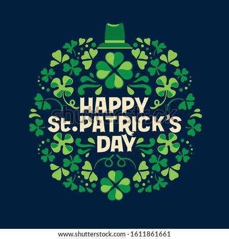 Happy St. Patrick's Day Stock photo © Oakozhan