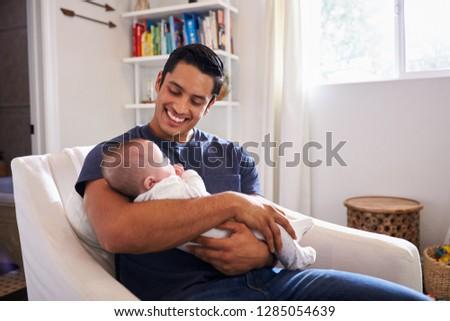man · zoon · familie · gelukkig · kind - stockfoto © monkey_business
