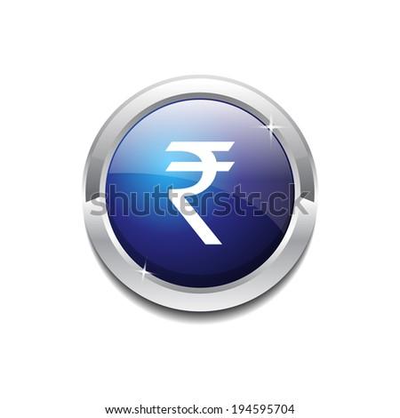 Indian Rupee Round Vector Web Element Circular Button Icon Desig Stock photo © rizwanali3d