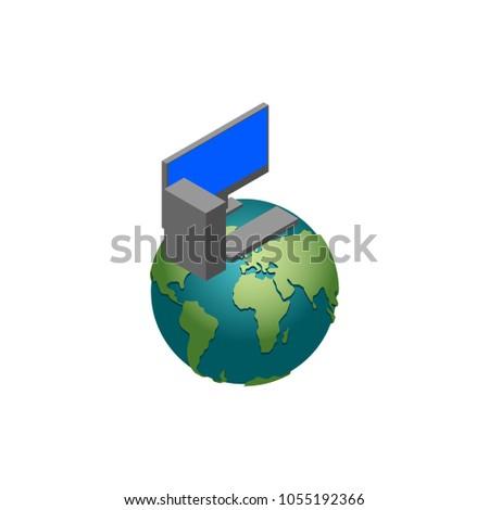将来 · 技術 · ヨーロッパ · ベクトル · インターネット · 背景 - ストックフォト © popaukropa