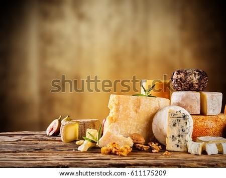 válogatás · különböző · kenyér · friss · ropogós · kenyeres · kosár - stock fotó © dash