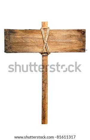 alten · Spalte · Holzstruktur · Holzschild · Kopie · Raum · Textur - stock foto © suriyaphoto