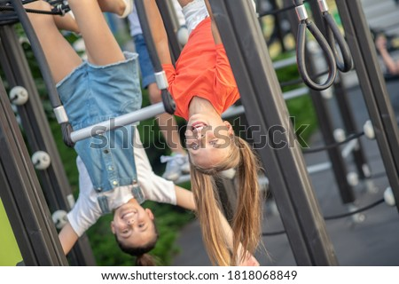 школы возраст ребенка играть площадка Сток-фото © Lopolo