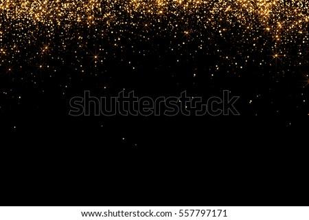 Pezsgő fuvolák arany csillog konfetti elmosódott Stock fotó © dashapetrenko
