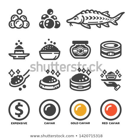 carviar icon set Stock photo © bspsupanut