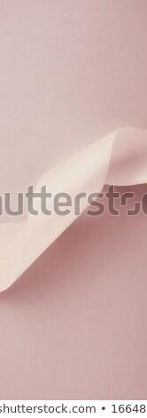 Streszczenie jedwabiu wstążka pastel ekskluzywny Zdjęcia stock © Anneleven