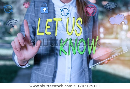 Question Let Us Know Feedback Concept Stock photo © ivelin