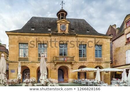 ратуша Франция отдел здании город путешествия Сток-фото © borisb17