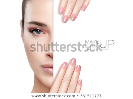 顔 ファッション 女性 女性 白 ストックフォト © Lopolo