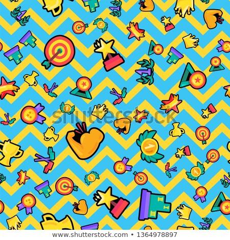 Naadloos kleur vector patroon Stockfoto © barsrsind