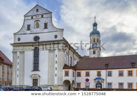 後見人 天使 教会 ドイツ カトリック教徒 教会建築 ストックフォト © borisb17