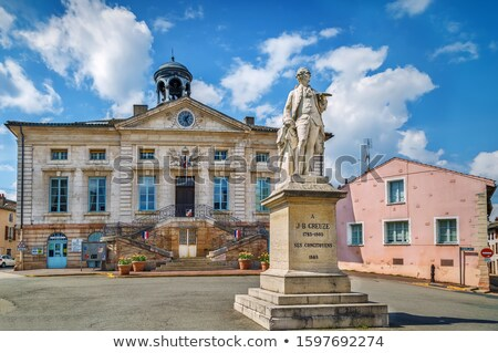 город зале Франция статуя квадратный центр Сток-фото © borisb17