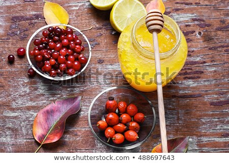 Rosehip and Honey Herbal Remedy Stock photo © marilyna