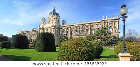 Oude gebouw museum arts Wenen Oostenrijk Stockfoto © artjazz