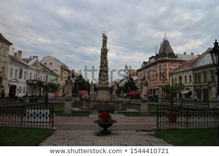 Coluna Eslováquia barroco edifício cidade Foto stock © borisb17