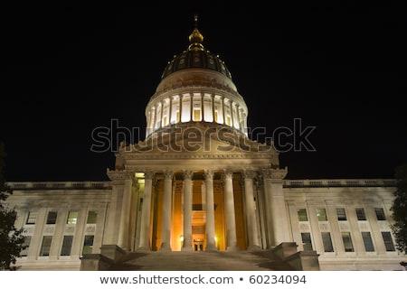 Fekete éjszaka Nyugat-Virginia Stock fotó © benkrut