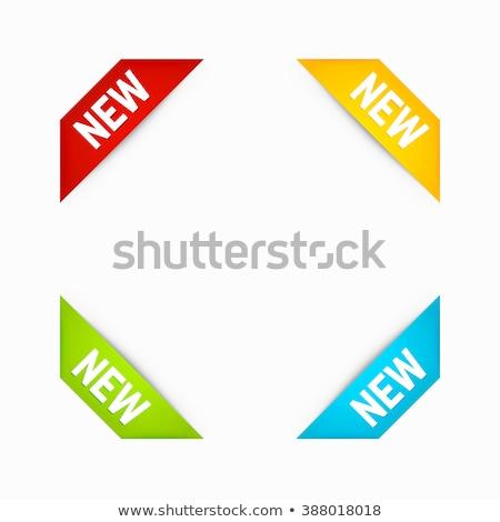 vert · décoration · signe · peinture - photo stock © orson