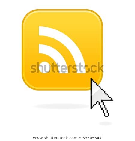 mouse · de · computador · rss · ícone · internet · tecnologia · assinar - foto stock © cla78