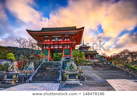shinto temple in kyoto japan stock photo © travelphotography