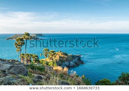 идиллический · острове · Таиланд · красивой · тропические · зеленый - Сток-фото © moses