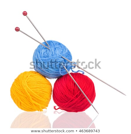 yard with knitting needles stock photo © balefire9