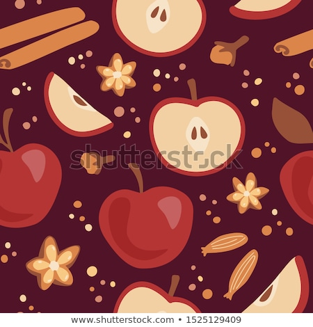 christmas apple in brown paper stock photo © frannyanne