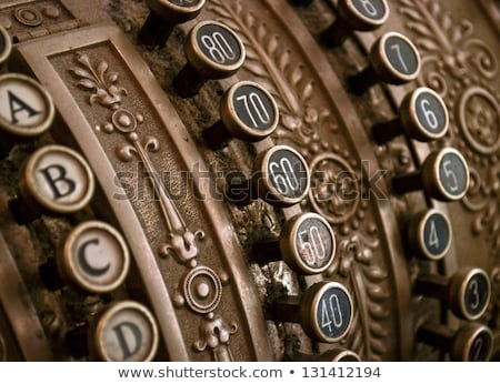 Antique cash register Stock photo © Winner