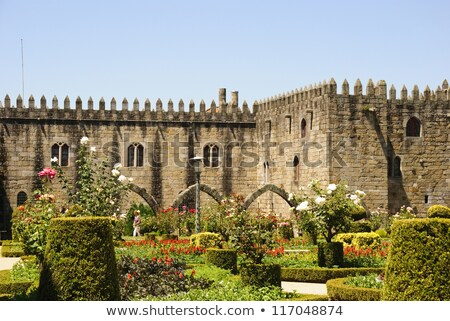 Palace of bishop, Braga, Portugal Stock photo © neirfy