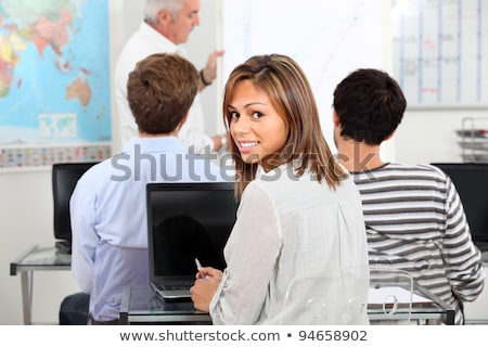 A bunch of student in their classroom. Stock photo © photography33