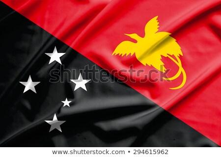 Папуа-Новая · Гвинея · флаг · кнопки · знак · путешествия · цвета - Сток-фото © zeffss