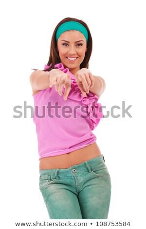música · nena · mujer · sexy · gafas · de · sol · escuchar · sexy - foto stock © feedough
