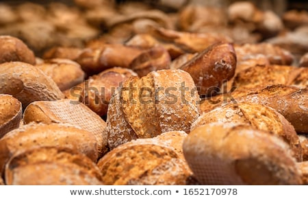 crusty bread bun stock photo © broker
