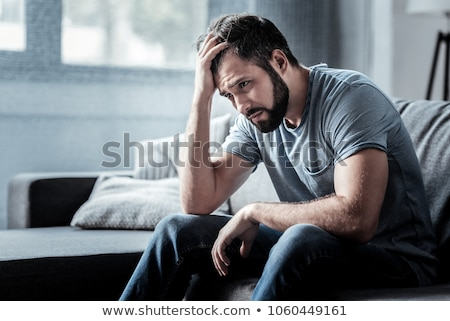 Depressed man Stock photo © grafvision