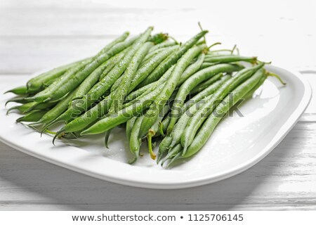 Green String Beans Stock photo © bobkeenan