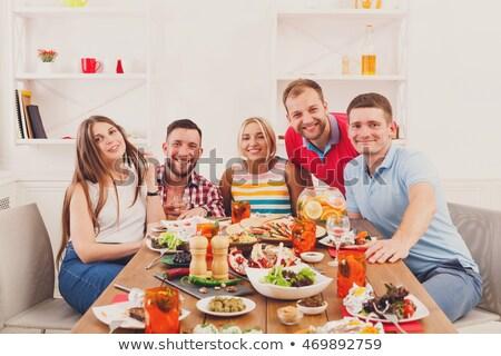 Convivial meal Stock photo © photography33