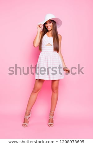 short skirt long legs and high heels foto stock © rtimages
