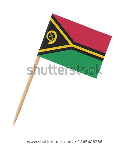 Miniatura bandeira Vanuatu isolado reunião Foto stock © bosphorus