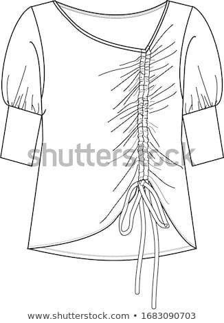 lace dress Stock photo © dolgachov