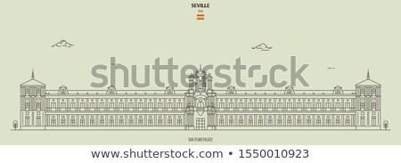 Palacio de San Telmo Stock photo © Hofmeester