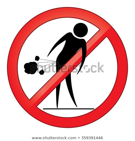 Forbid farting people sign Stock photo © Hermione